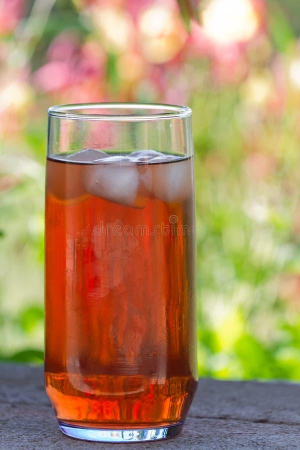 Чай льда заднего двора стоковое изображение