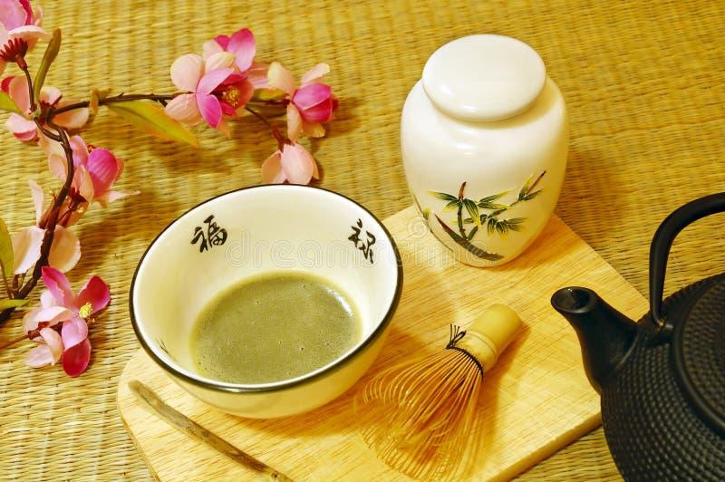 чай японца церемонии стоковое фото rf