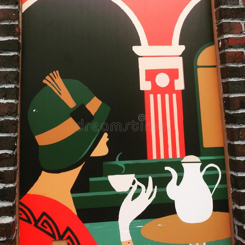 Чай Cuppa стоковые изображения