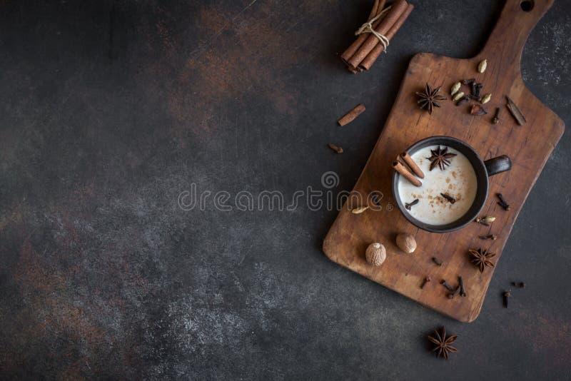 Чай Masala chai стоковое фото