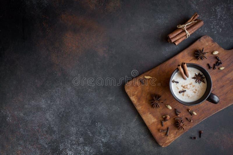 Чай Masala chai стоковые фото