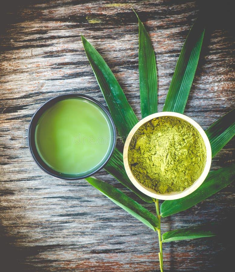 Чай Matcha стоковое изображение