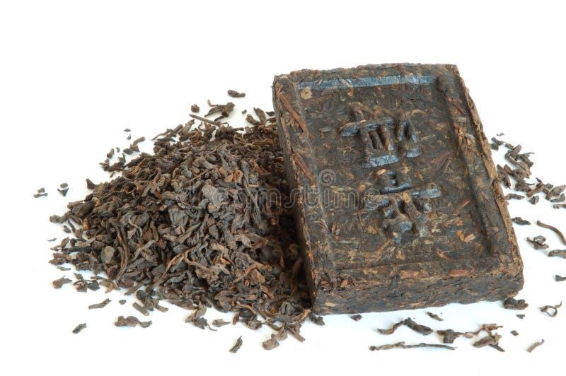 чай pu erh стоковые фото