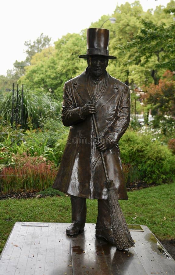Чарльз g Плетеный памятник стоковая фотография rf