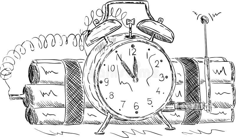 Часовая бомба Стоковые Фотографии RF