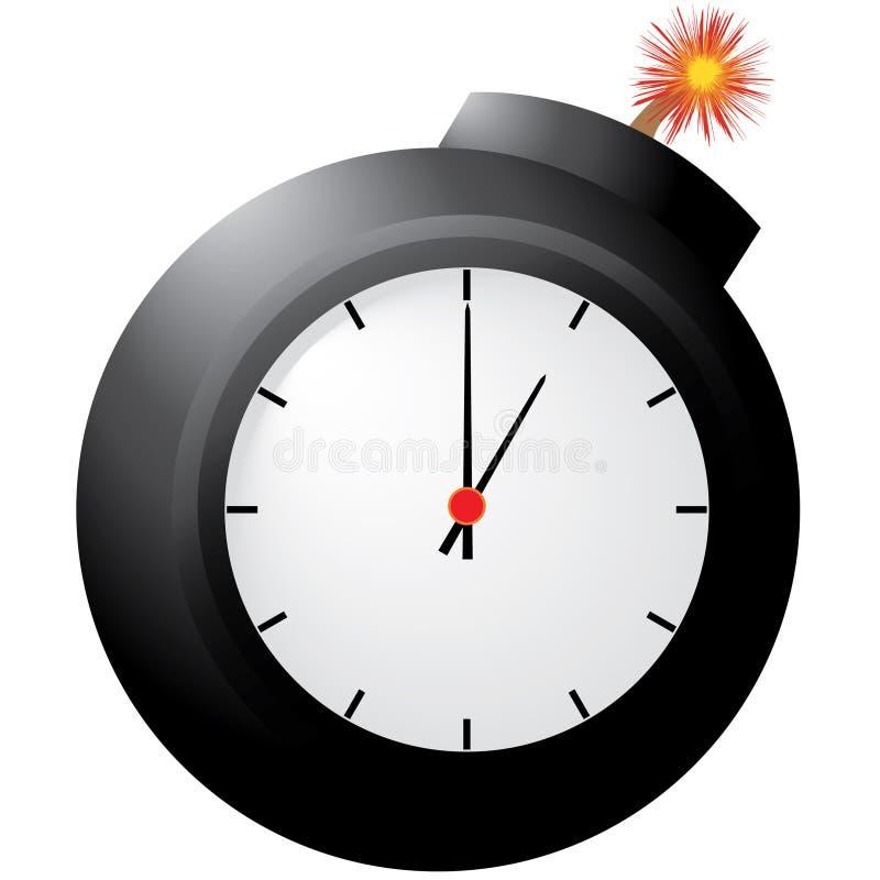 Часовая бомба стоковая фотография