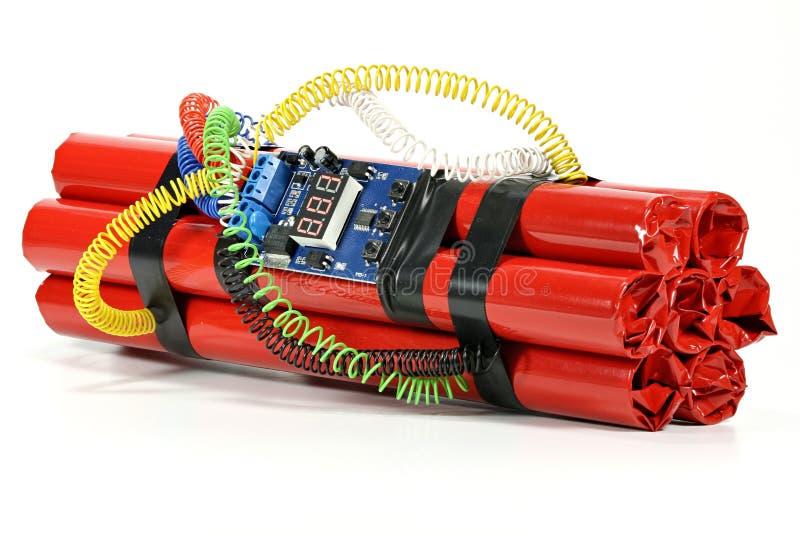 Часовая бомба стоковое фото rf