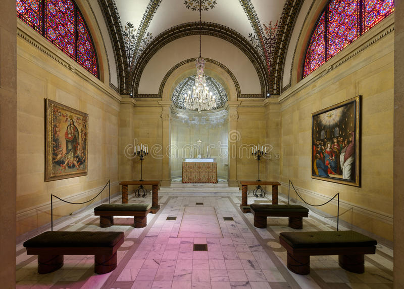 Часовня собора St Cecilia стоковое изображение
