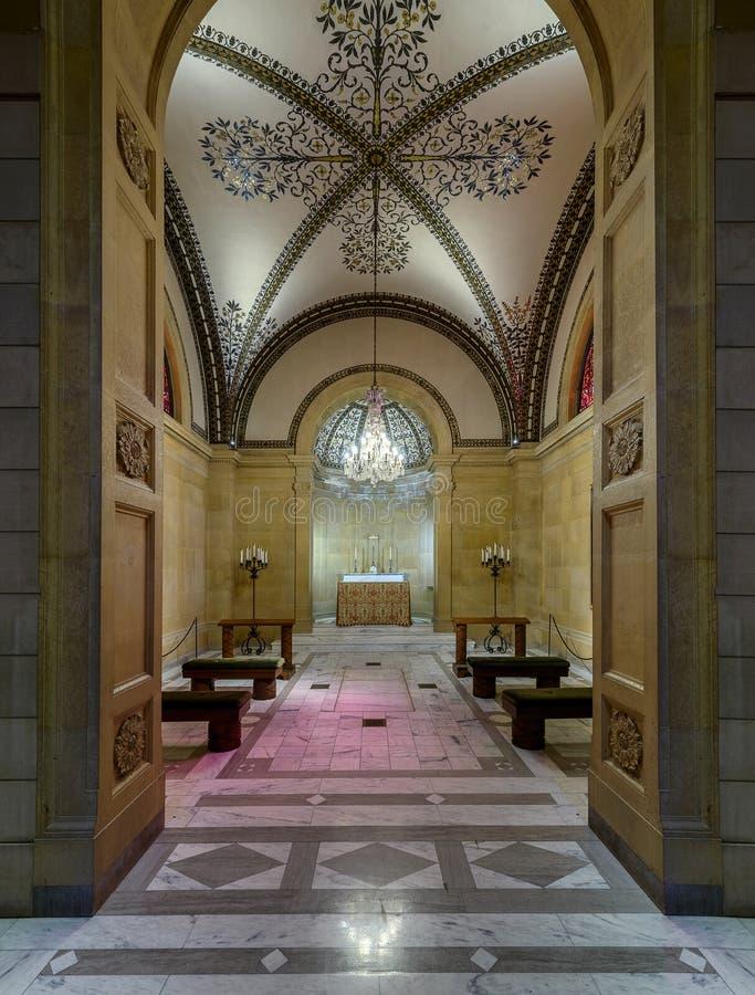 Часовня собора St Cecilia стоковая фотография