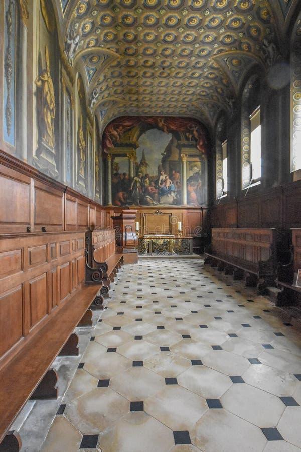 Часовня Wimpole Hall стоковое фото