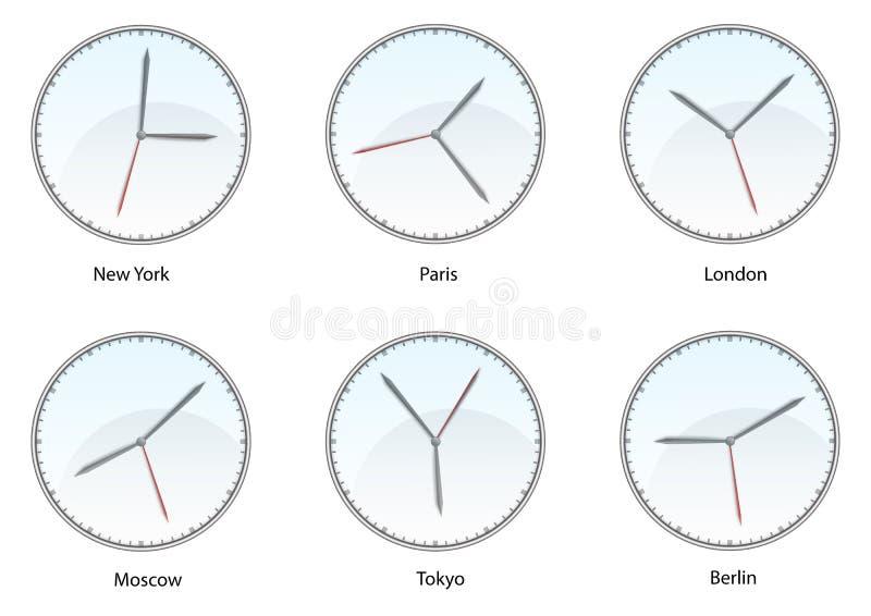 Часовой пояс мира стоковые фото