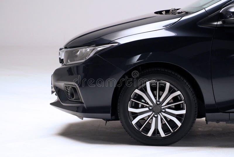 Части автомобильного автомобиля чернят снимать съемок цвета бортовой стоковые фотографии rf