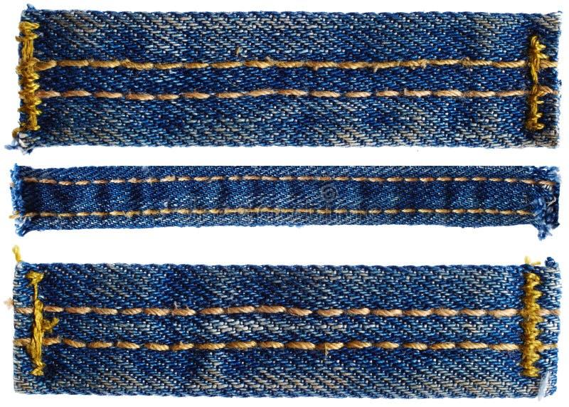 Части брюк джинсов стоковые изображения rf
