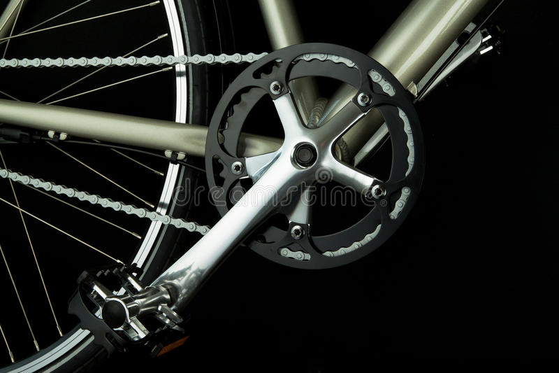 части велосипеда мотылевые стоковая фотография rf