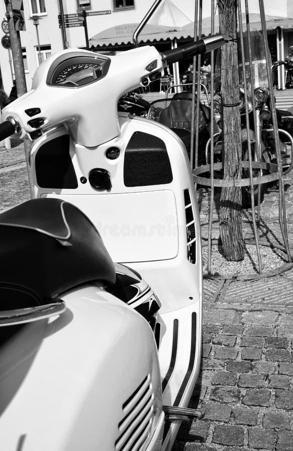 Конец-вверх частей мотоцикла стоковые изображения rf
