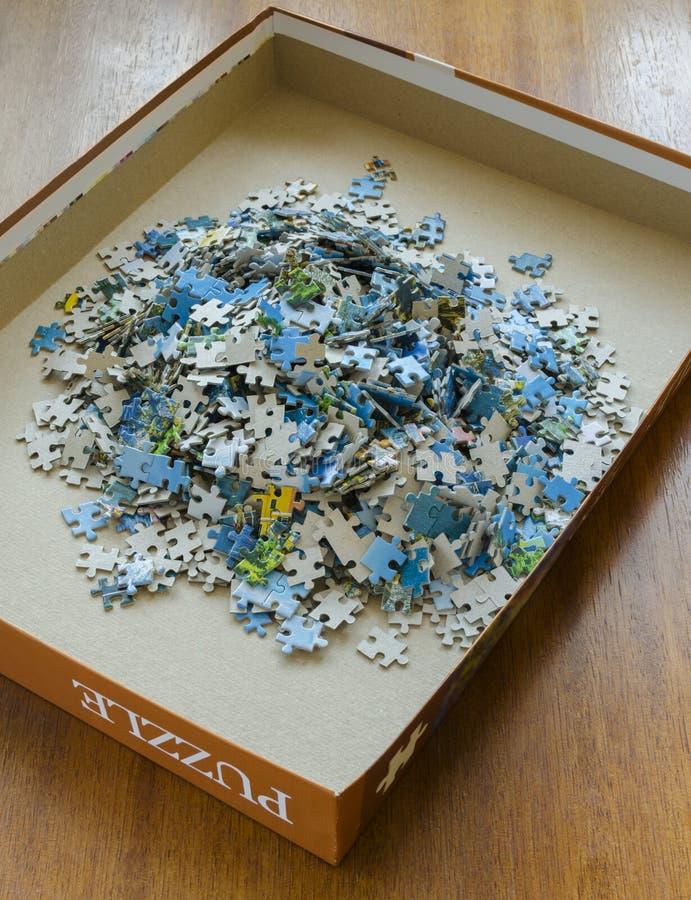 Части головоломки стоковые фото