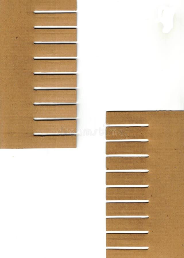 части картона стоковое изображение rf