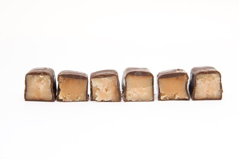 Download части конфеты штанги стоковое фото. изображение насчитывающей шоколад - 6860714