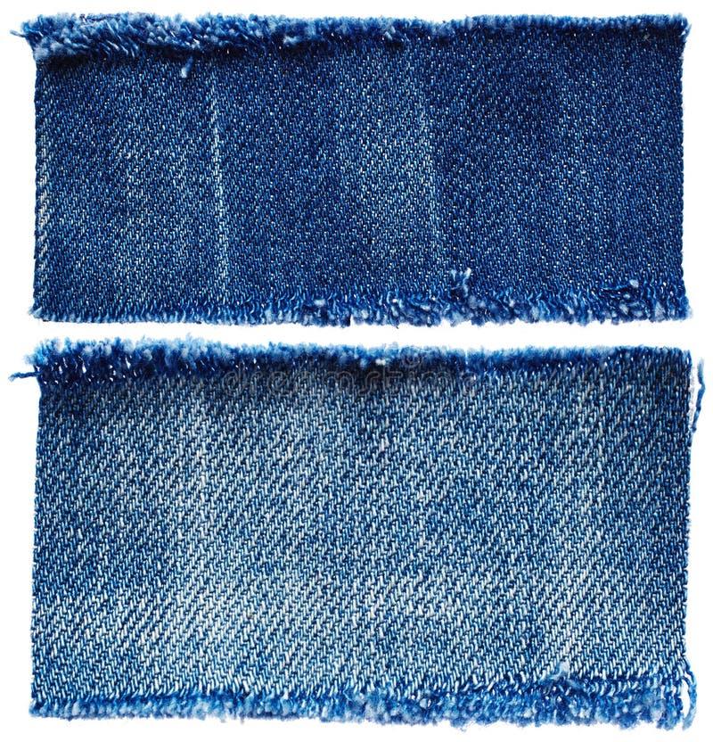 Части ткани джинсов стоковое изображение rf