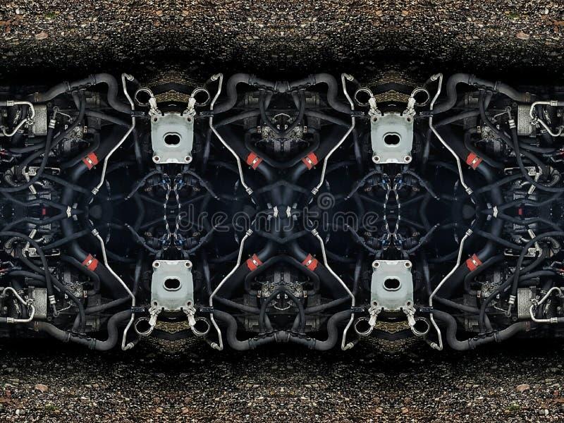 Части трубок автомобиля, стоковые изображения rf
