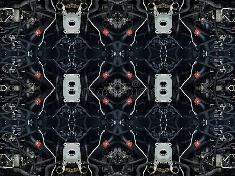Части трубок автомобиля, стоковое изображение rf