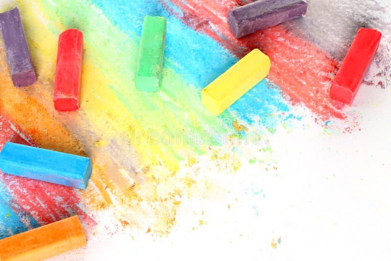 Части цвета мела стоковые изображения