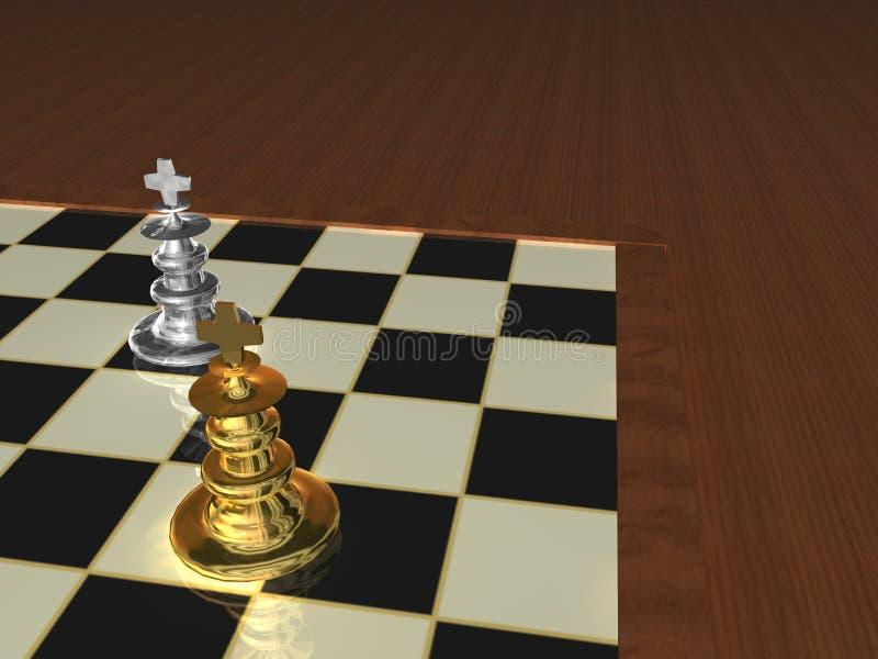 части шахмат металлические стоковое фото