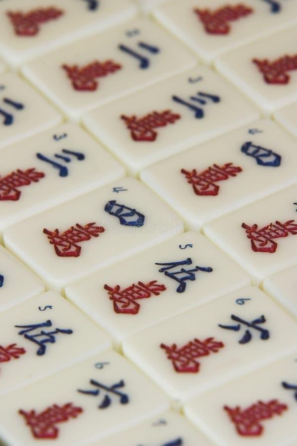 части mah jong игры стоковые изображения