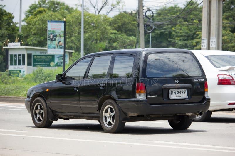 Частный выберите вверх курорт ОБЪЯВЛЕНИЯ Van Nissan Nv стоковые фотографии rf