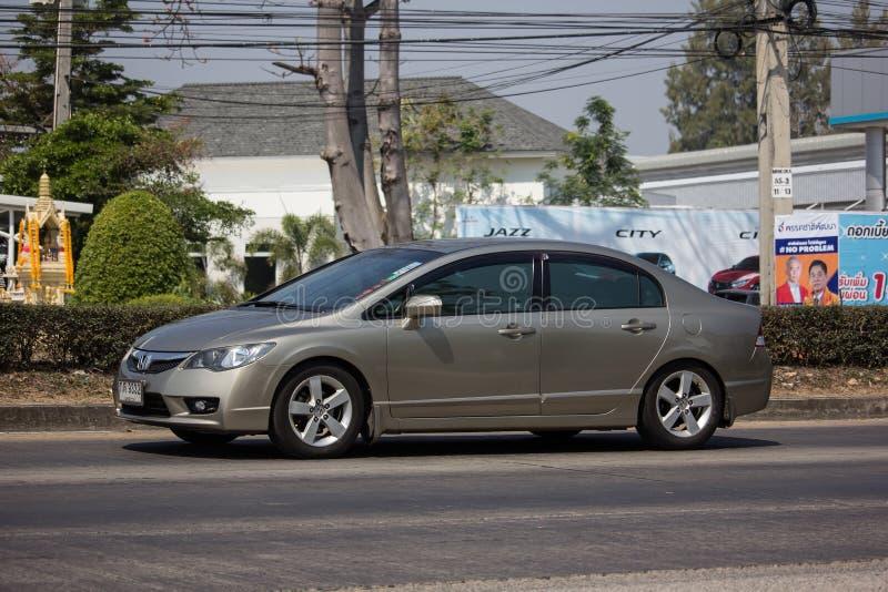 Частный старый автомобиль Honda Civic стоковые фотографии rf
