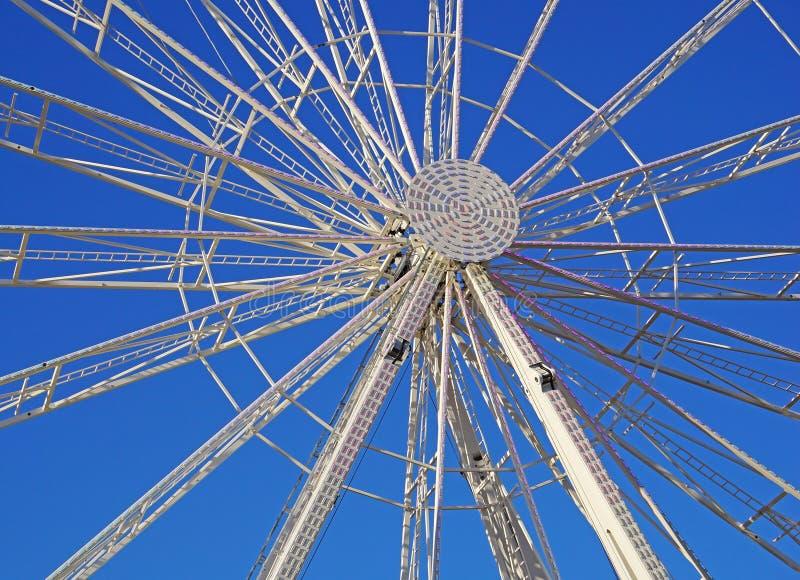 Часть большого колеса Ferris стоковая фотография
