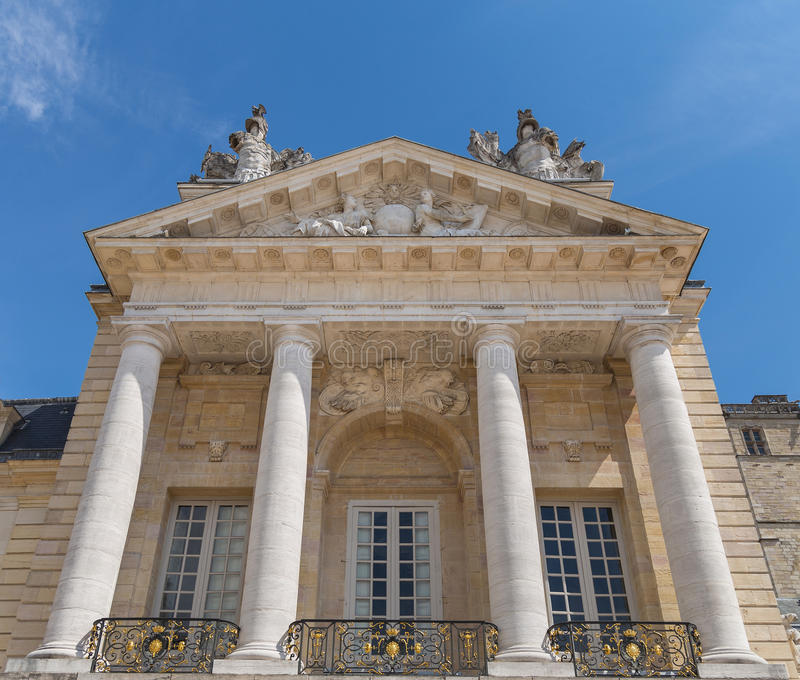 Часть дворца герцоги бургундского стоковое фото rf