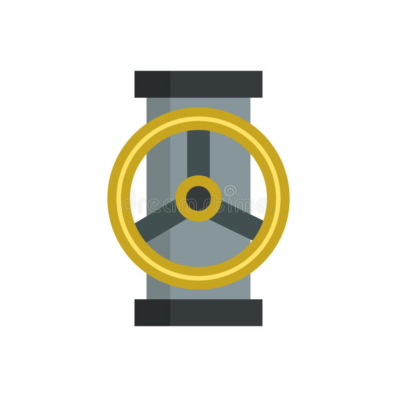 Часть водопроводного крана стальная влажная серебряная вектора механического оборудования шестерни работы значка машинного оборуд бесплатная иллюстрация