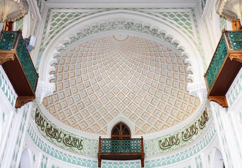 часть дворца фасада vorontsovsky стоковые изображения rf