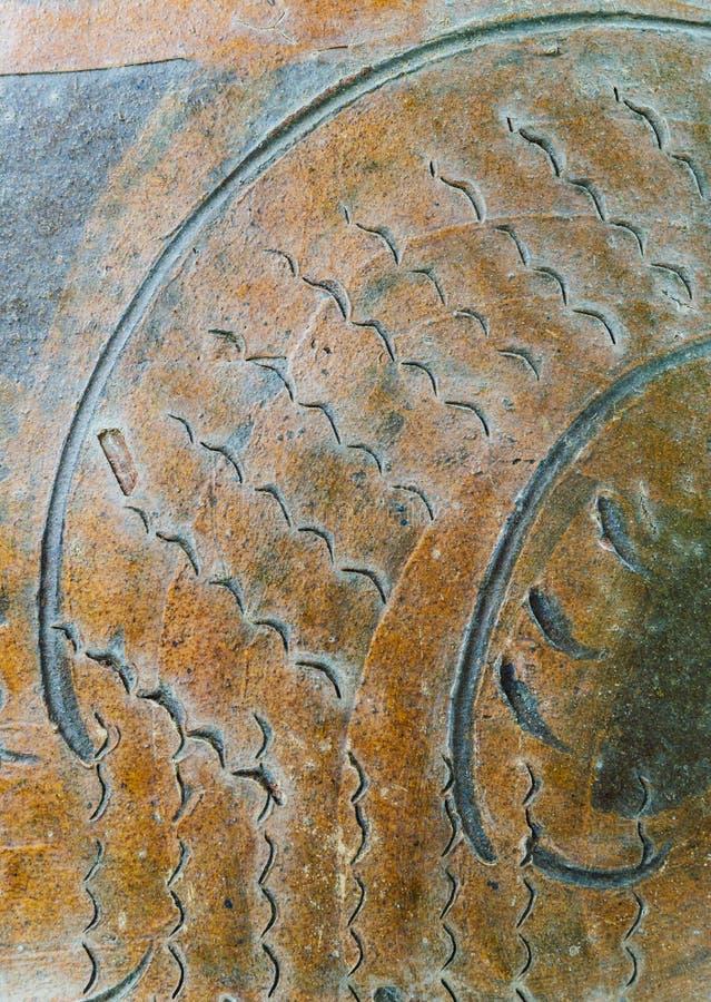 Часть застекленных картин опарника воды стоковые изображения