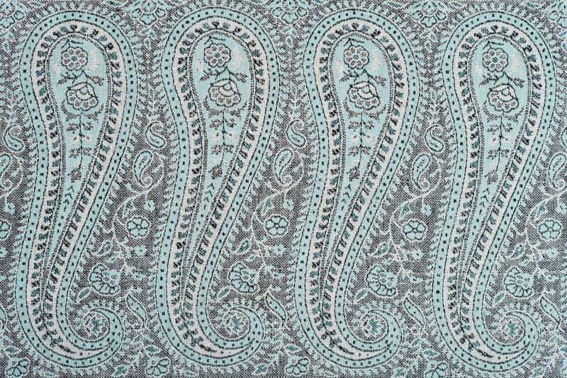 Часть индийской картины шали pashmina стоковые изображения rf