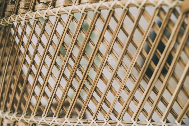 Часть кресла соломы как текстура стоковые фотографии rf