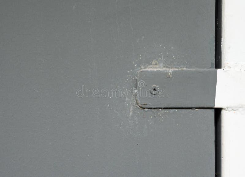 Часть металла оконной рамы стоковые фото