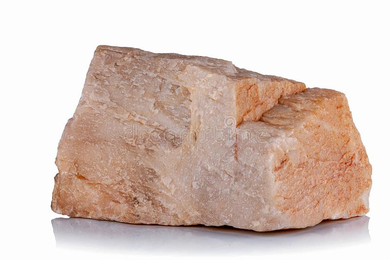 Часть минерального кварца стоковая фотография rf