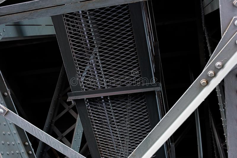 Часть моста стоковое фото