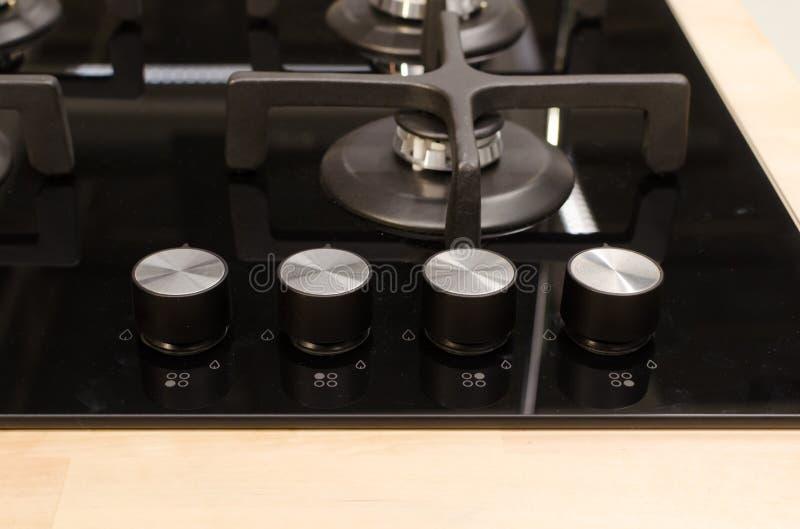 Часть новой черной плиты с kobs стоковые фото