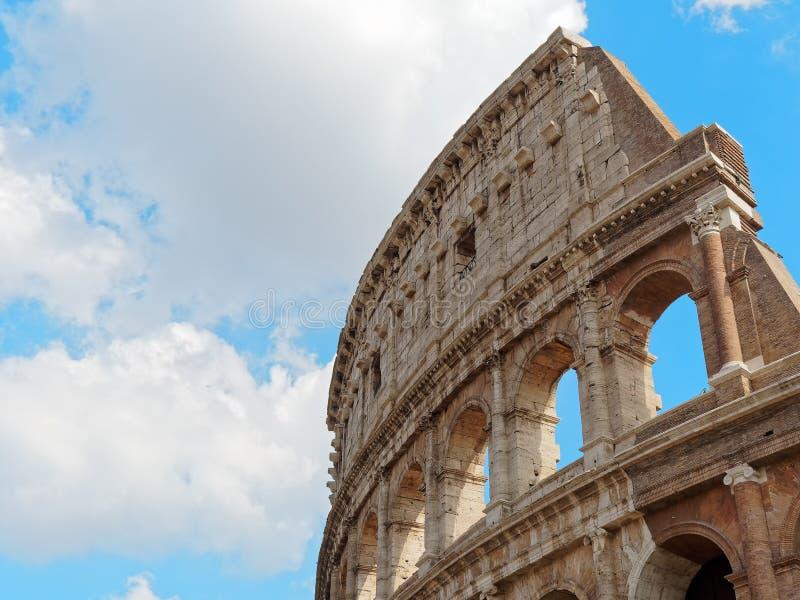 Часть Рим Италия Colosseum самая высокая стоковые изображения rf