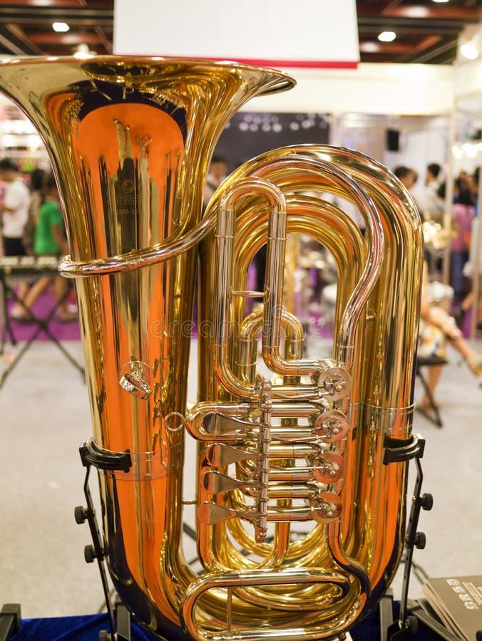 Часть саксофона Стоковые Изображения
