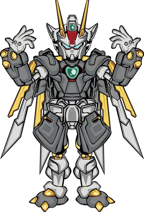 Часть тела robo g иллюстрация штока