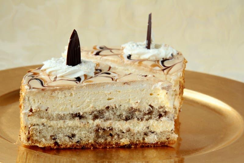 часть торта довольно вкусная стоковые изображения rf