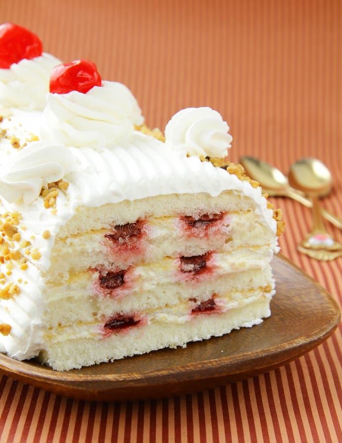 часть торта довольно вкусная стоковая фотография rf