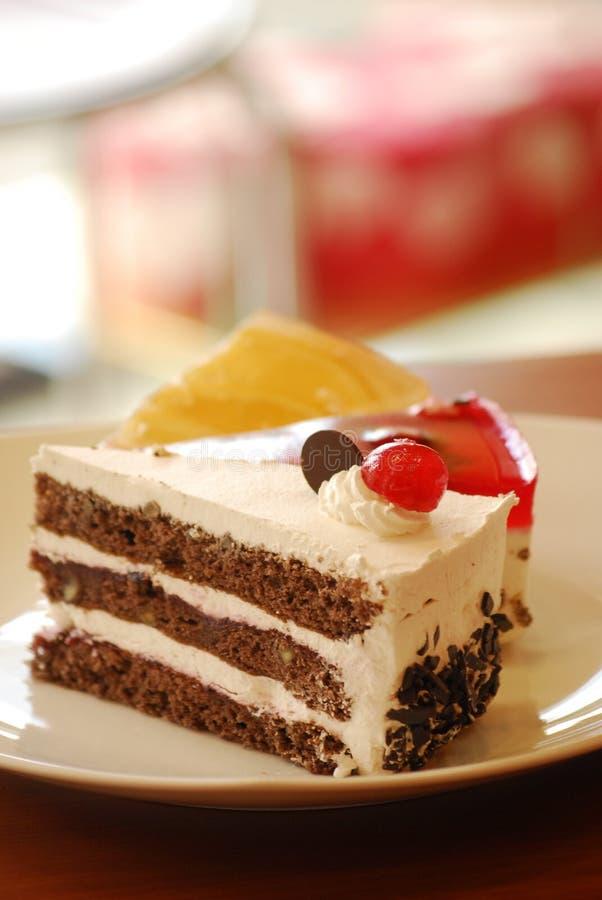часть торта стоковое фото rf