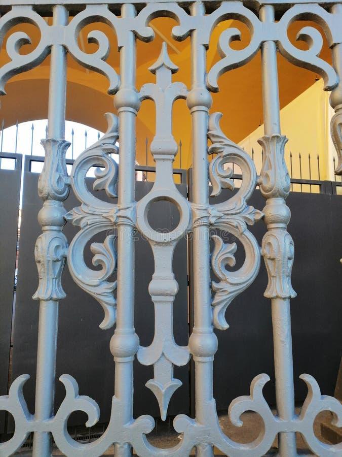 часть украшения ворот стоковые изображения rf