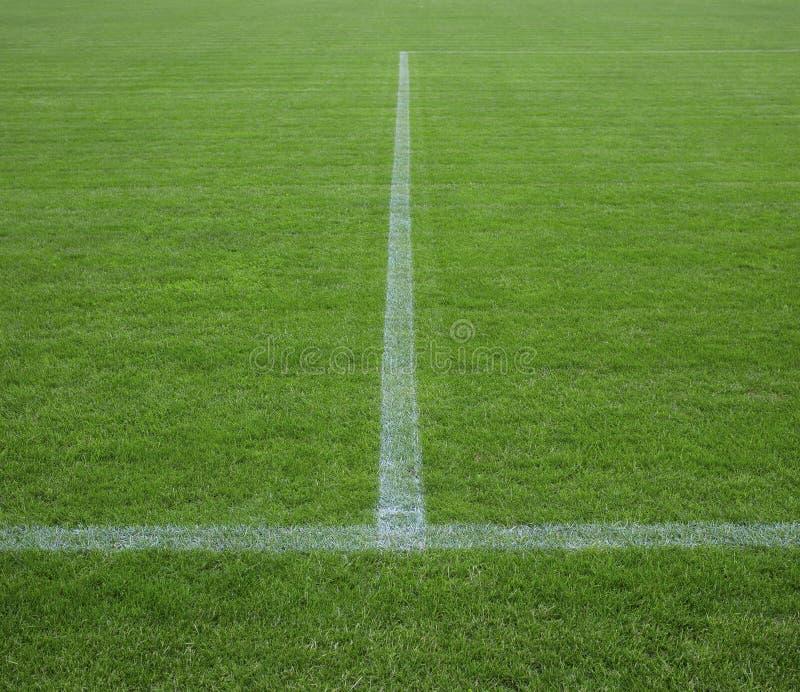 Часть футбольного поля стоковое изображение