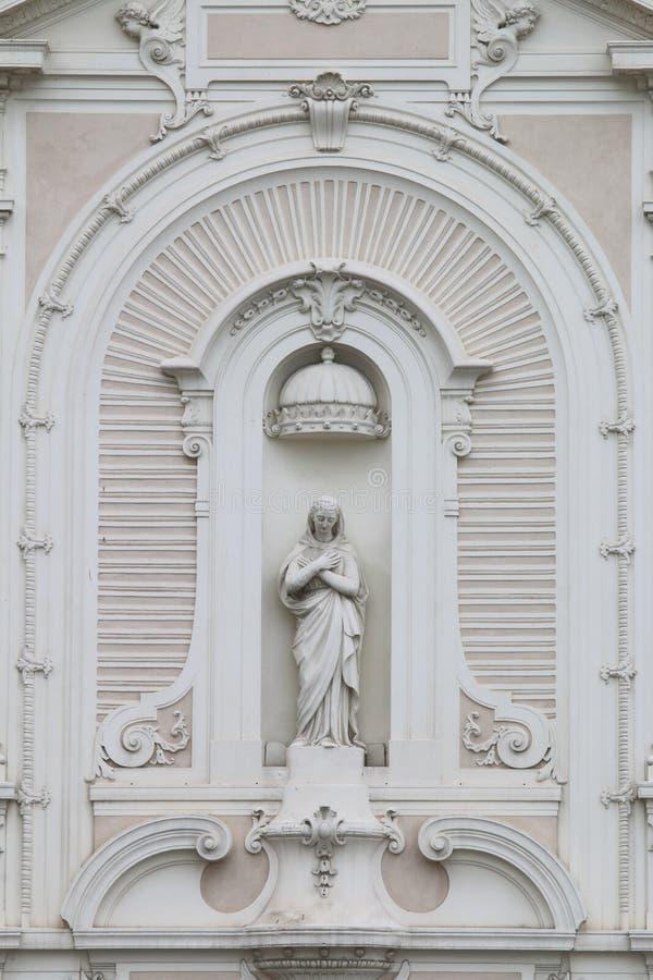 Часть церков les Augustins Святого-Ferréol, марселя, Франции стоковая фотография rf
